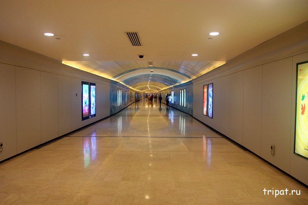 коридор под петронасами