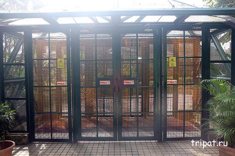 вход в парк птиц Куала Лумпур