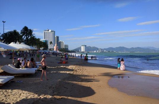 муниципальный пляж Нячанга