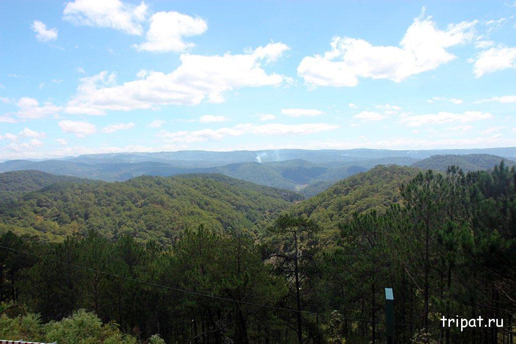 Вид на горы Далата