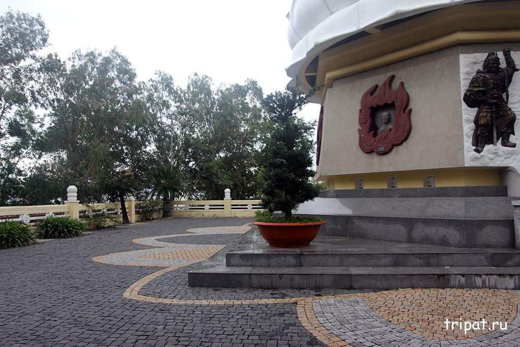 территория вокруг будды
