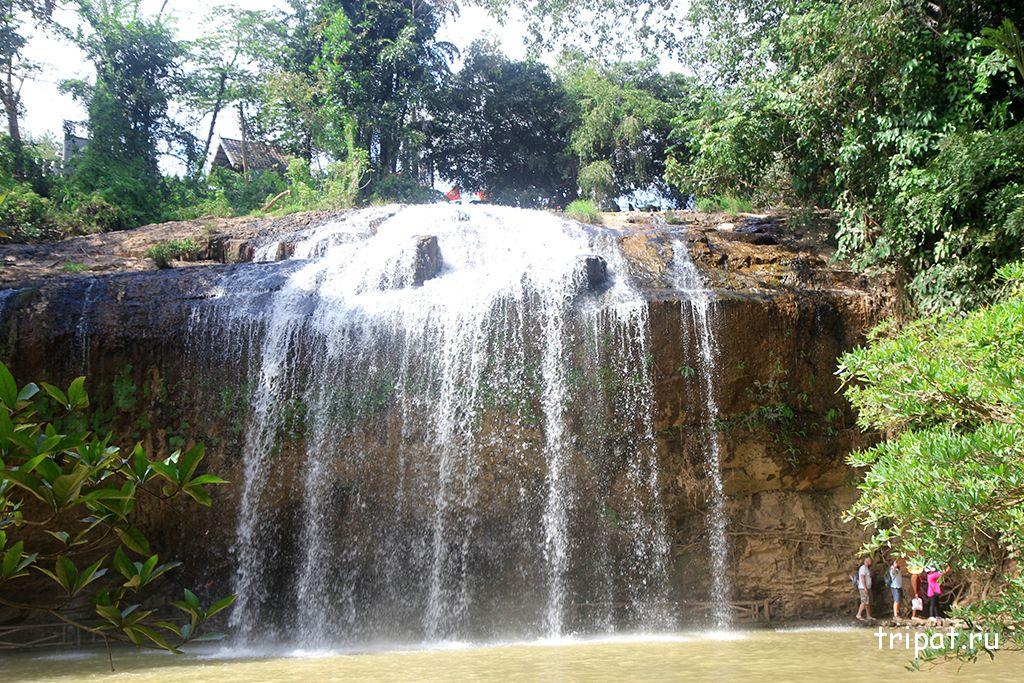 верх водопада пренн