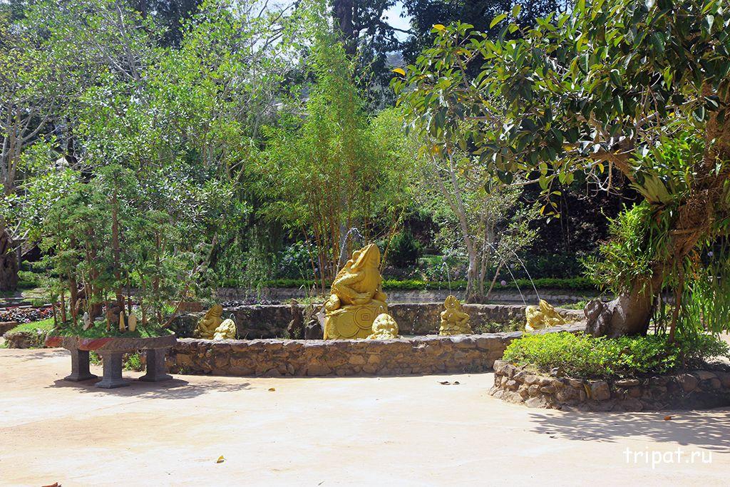 фонтан лягушка