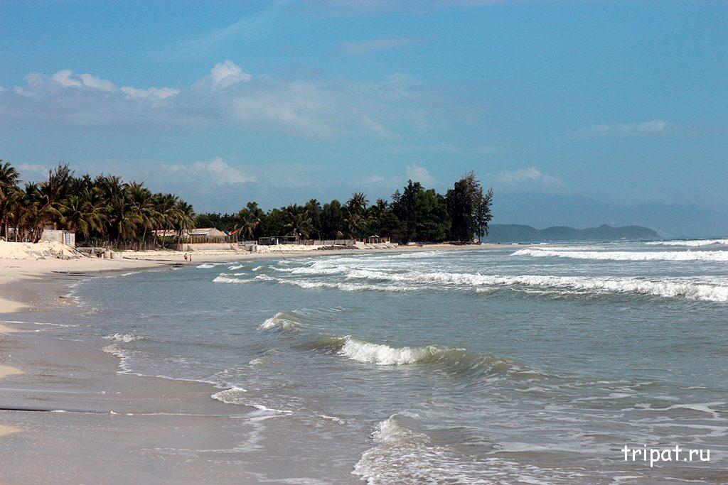 Волны на пляже Зоклет