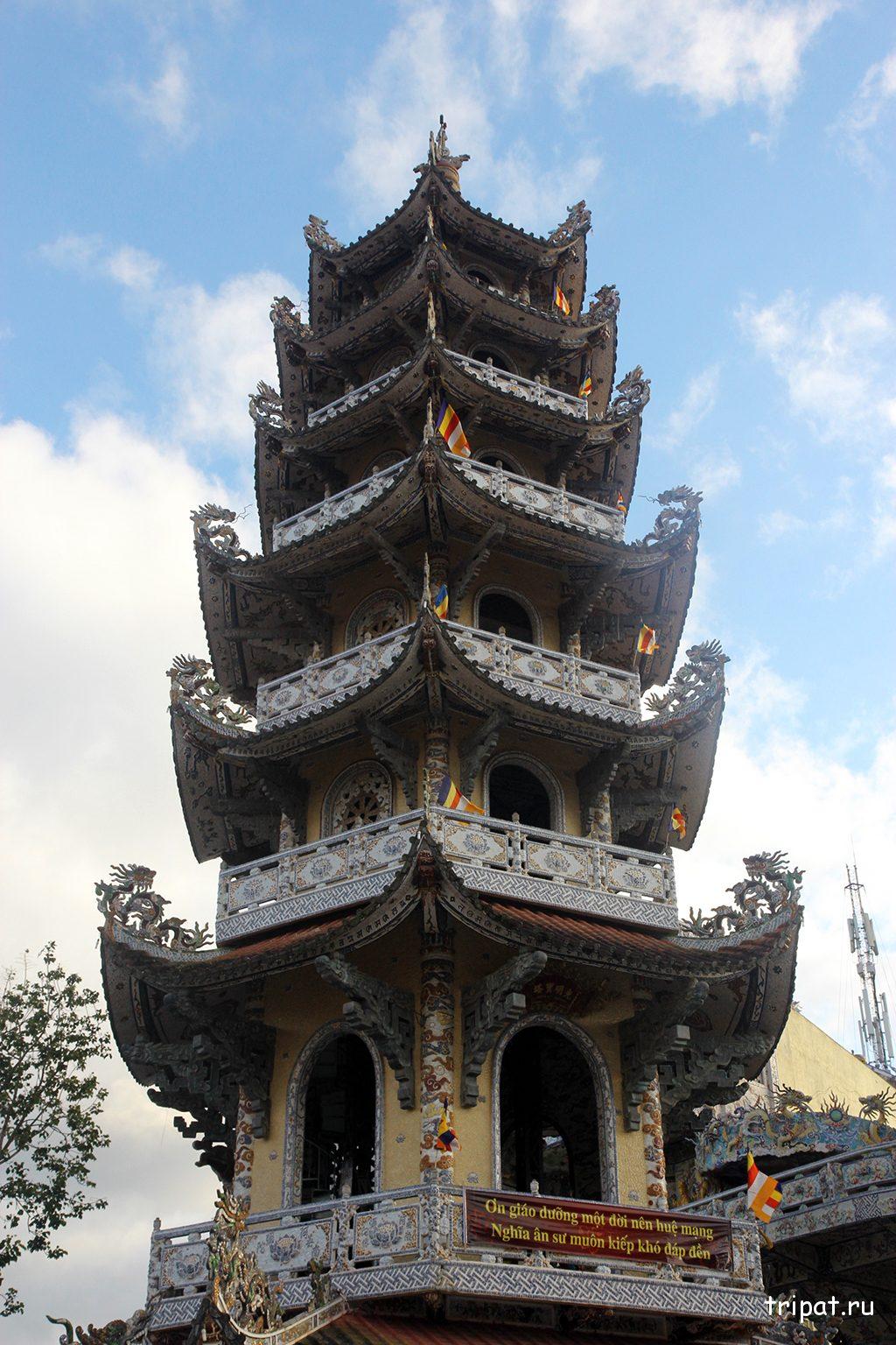 Высоченная центральная башня