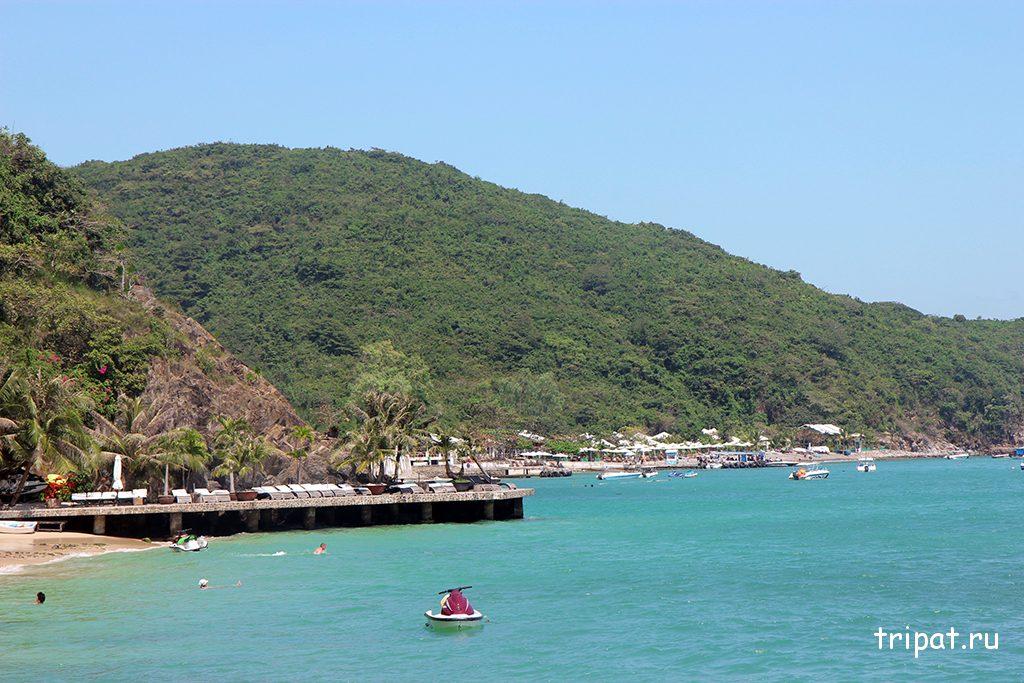 Вид на остров Чи Нгуен
