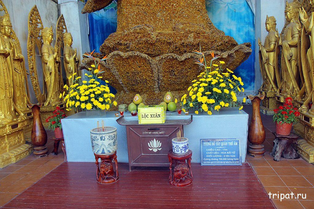 Молебня у цветочной богини