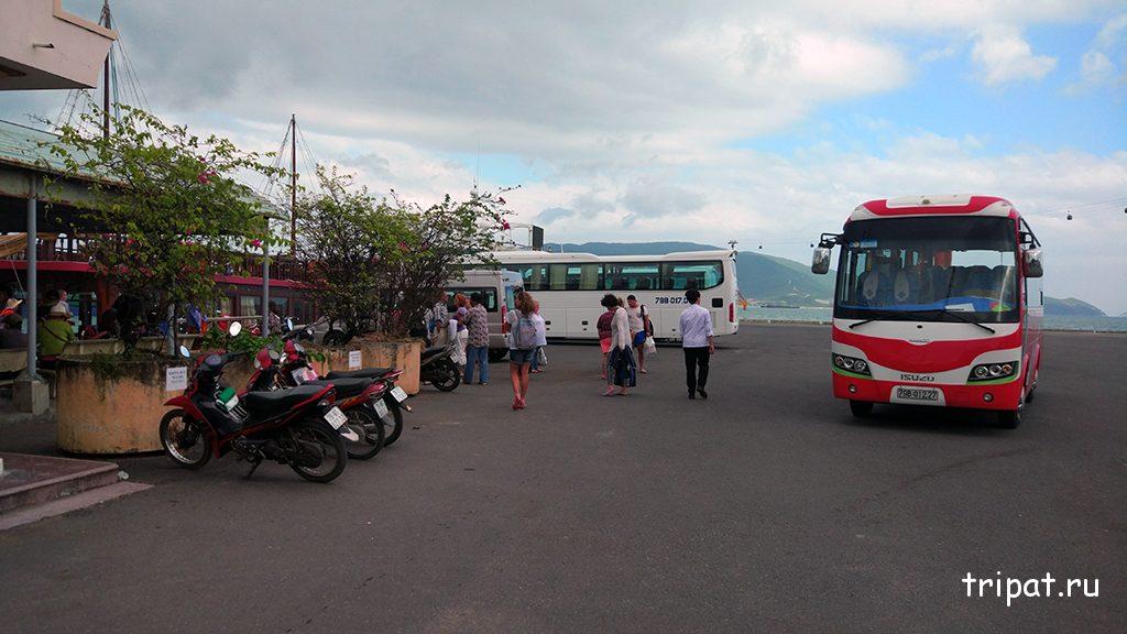 По возврату нас ждал наш автобус