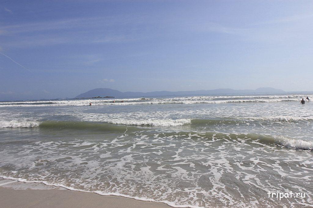 Вода на море