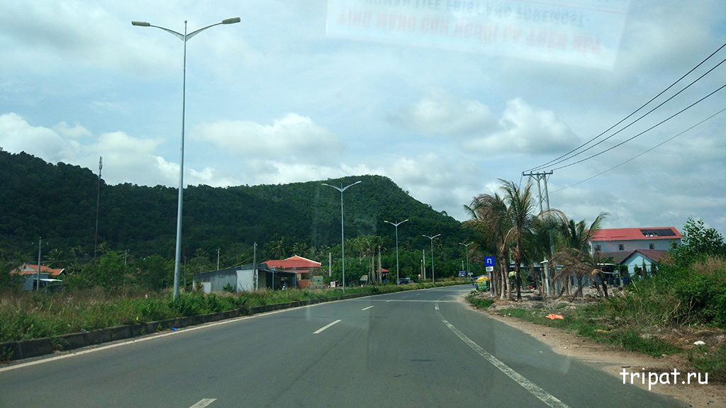 Дорога на пляж Бай Сао