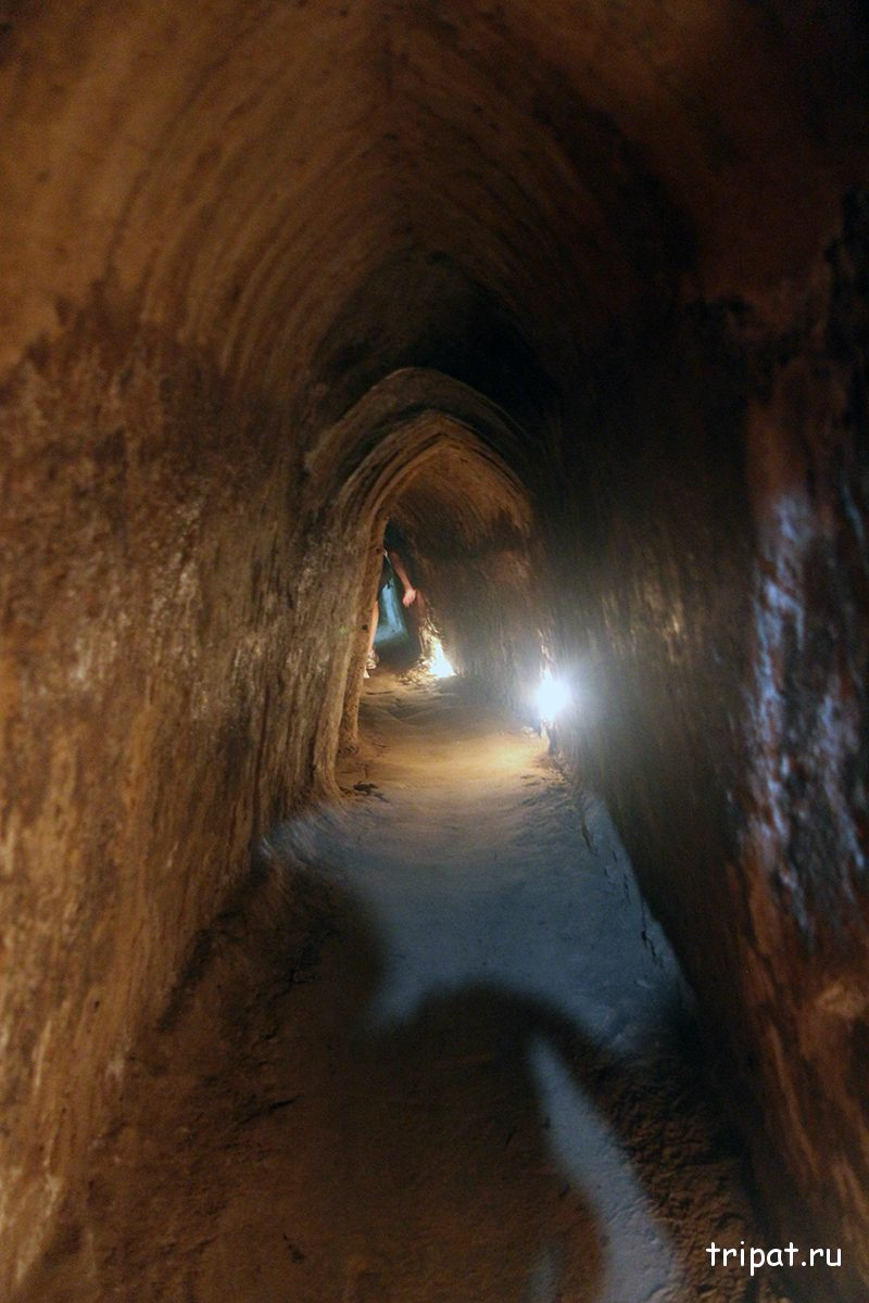 Внутри первого туннеля