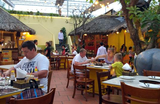 Вид ресторана Grill Garden