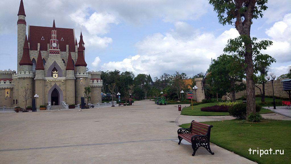 Замок Уолта Диснея в Винперле