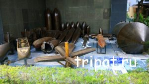Бомбы сброшенные на Вьетнам