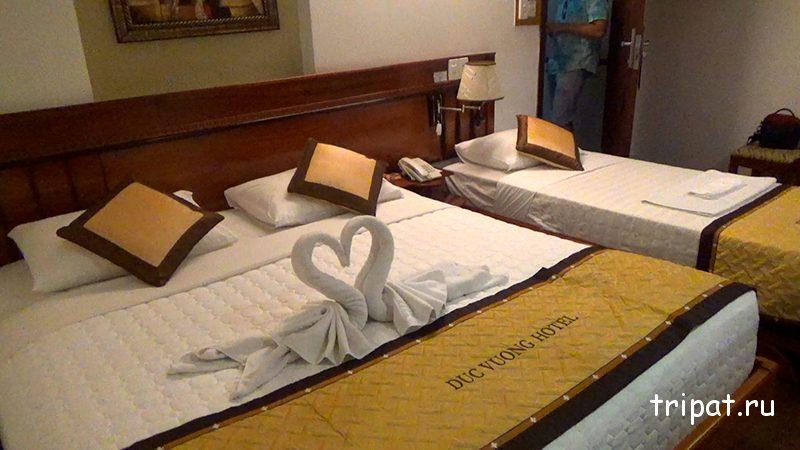 кровати и лебеди