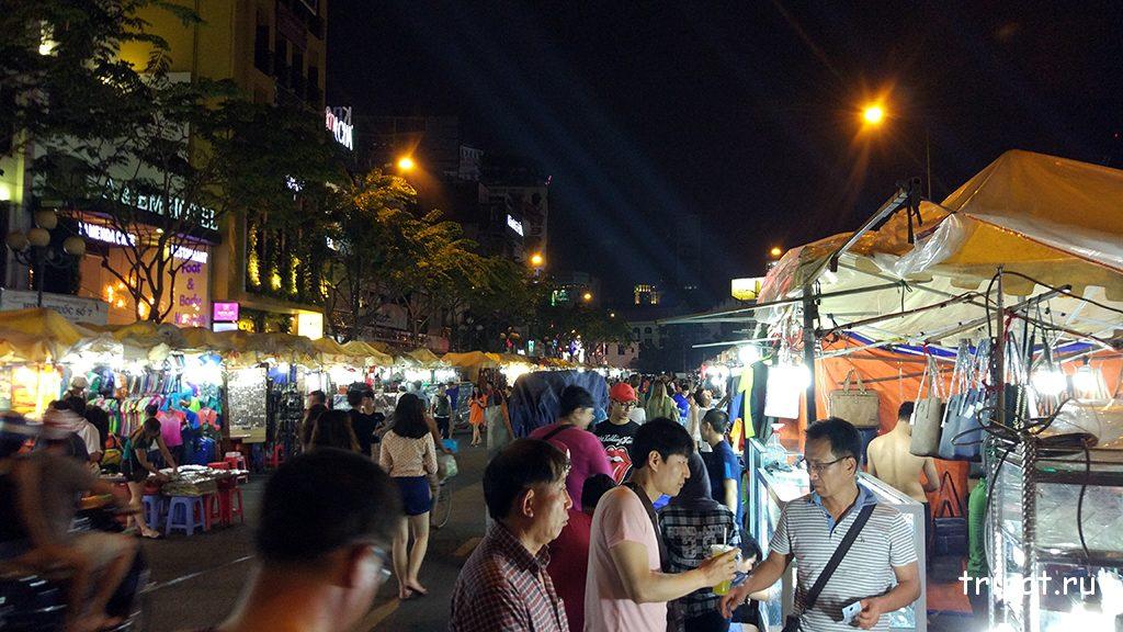 Ночной рынок в Хошимине