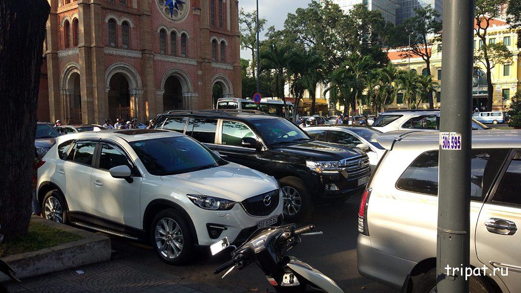 Бедные вьетнамские машины