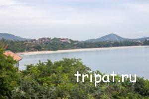 Вид со смотровой площадки на Чавенг Ной