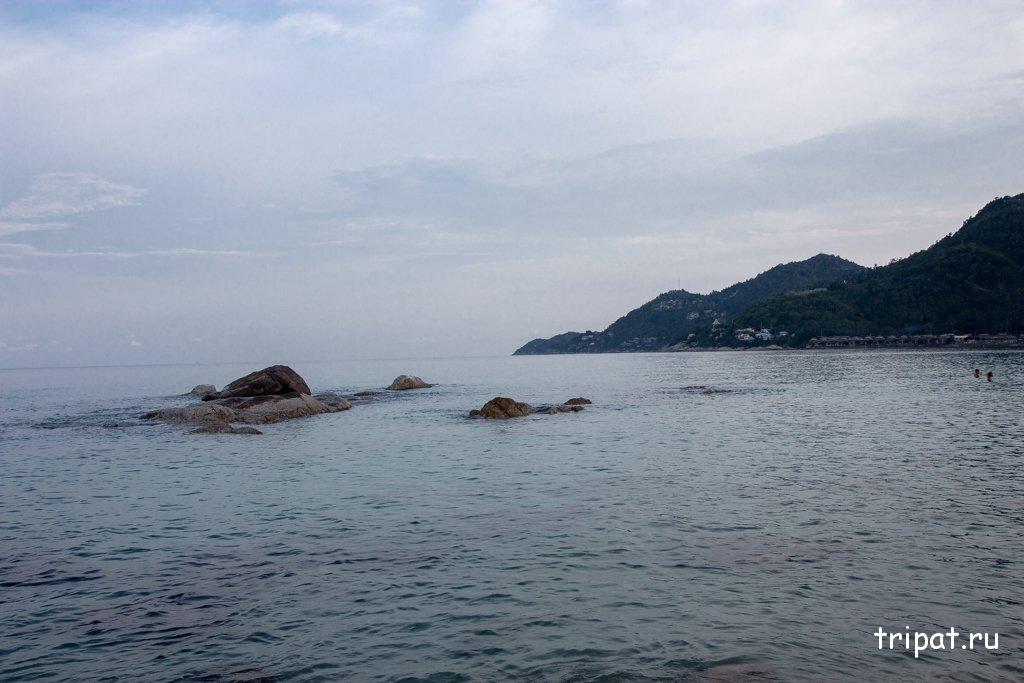 Середина пляжа