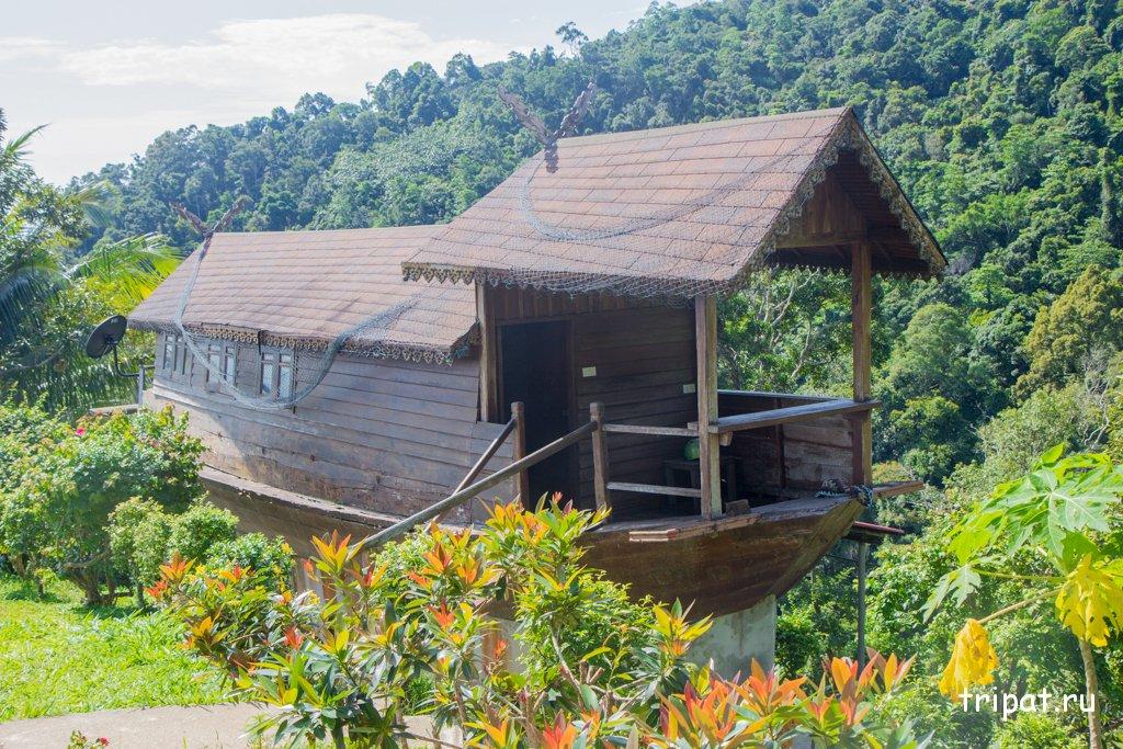 лодка-дом