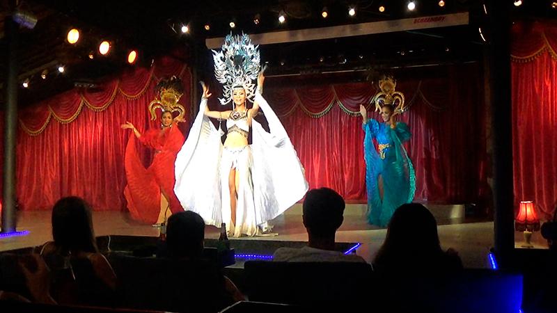 тайский танец трансов