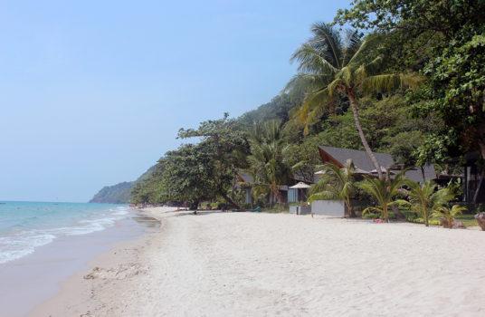 Пляж на острове Ко Чанг