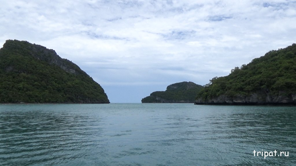 Вид на спокойное море