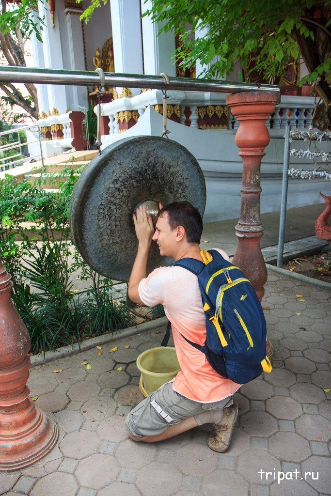 Мумифицированный монах на Самуи в храме Ват Кунарам