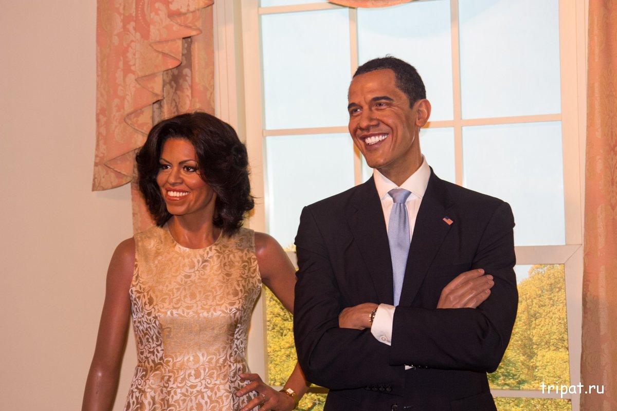 Барак Обама с супругой