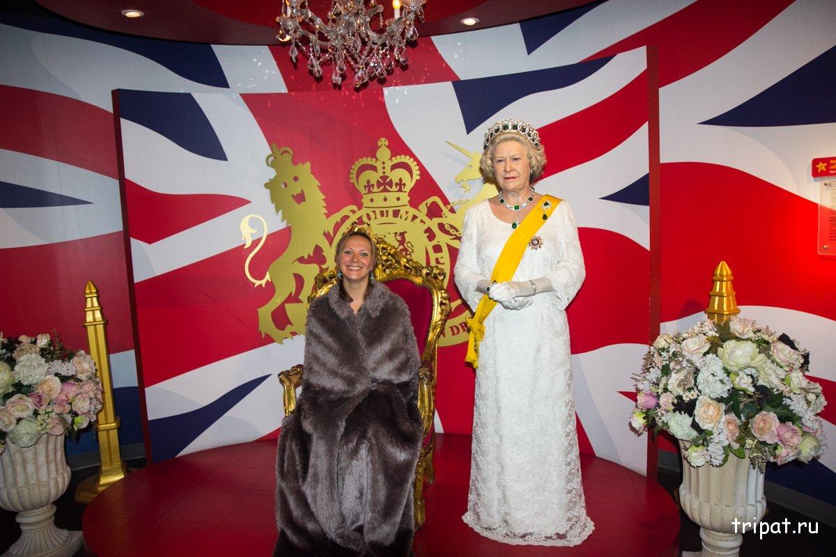Королева Англии - Елизавета