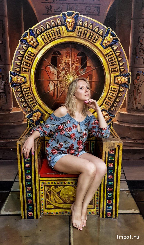 царица на троне