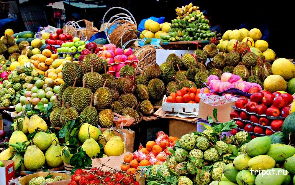 Фрукты из Таиланда